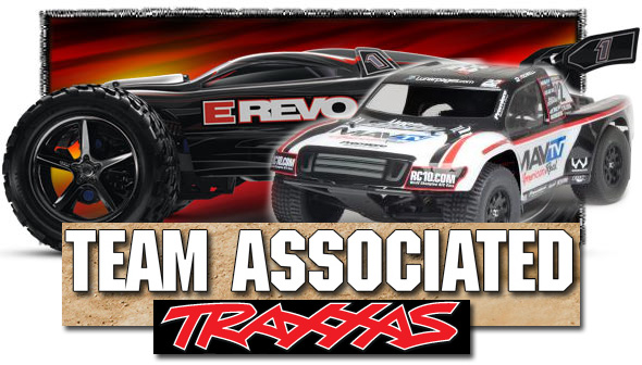 Traxxas and Team Associated RC Trucks